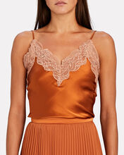 Vanessa Lace-Trimmed Camisole, , hi-res