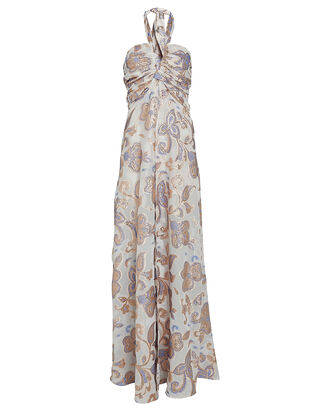 Falana Floral High-Low Dress, MULTI, hi-res