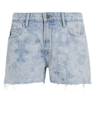 Raw Hem Cloud Shorts, LIGHT BLUE DENIM, hi-res