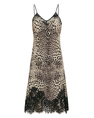 Leopard Slip Dress, LEOPARD, hi-res