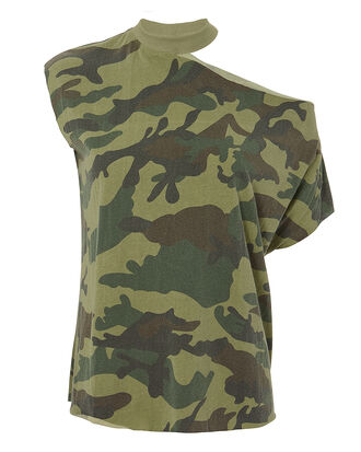 Axel Camo Cutout Tee, MULTI, hi-res