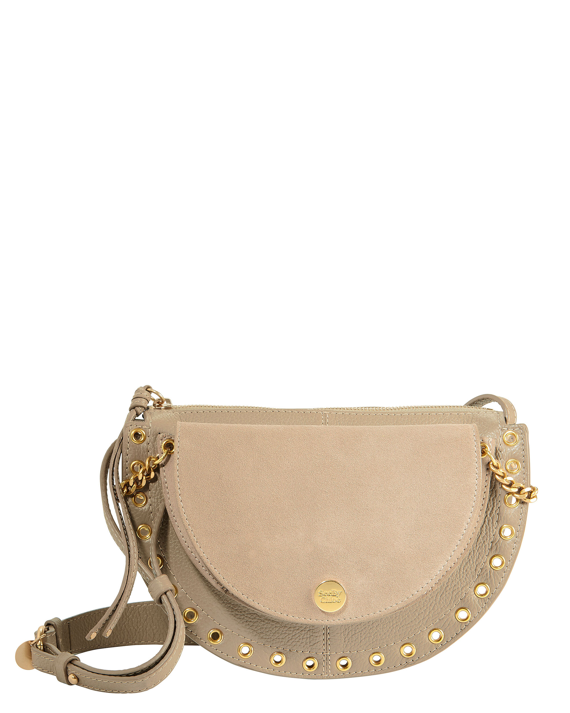 Kriss Small Grey Shoulder Bag, GREY, hi-res