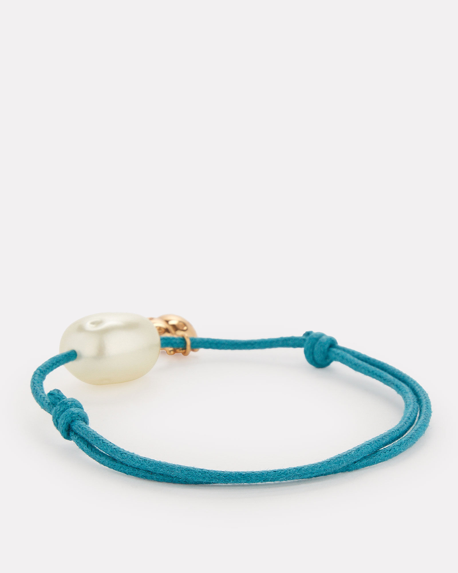 Grigri Lady Bug Wrap Bracelet, TEAL, hi-res