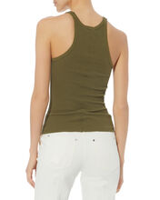 Ribbed Army Tank, OLIVE/ARMY, hi-res