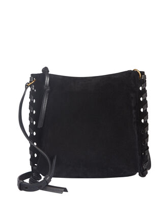 Irope Braided Suede Crossbody Bag, , hi-res