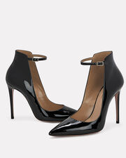 Sharon Patent Leather Pumps, BLACK, hi-res