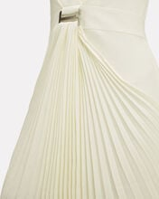 Suspended Sunray Pleated Dress, IVORY, hi-res