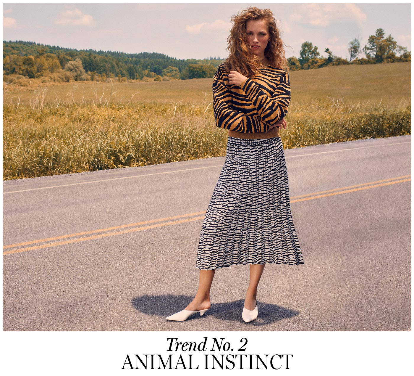 Fall 2018: Trend No. 2  Animal Instincts