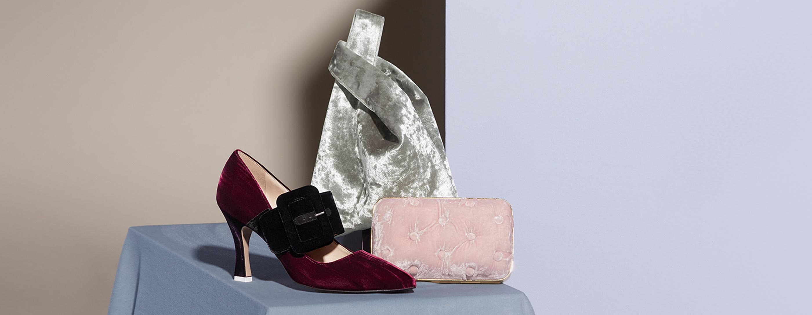Velvet Vision: Elevate your look with the richest finishing touch: Shop The Edit