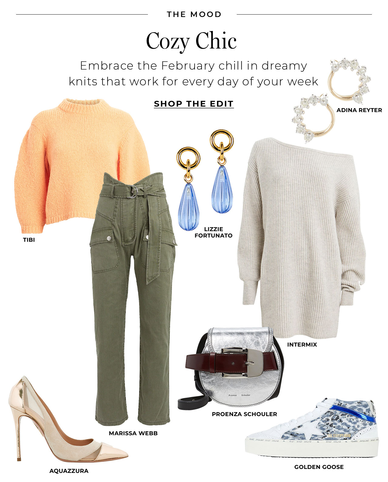 Embrace the February chill in dreamy knits that work for every day of the week