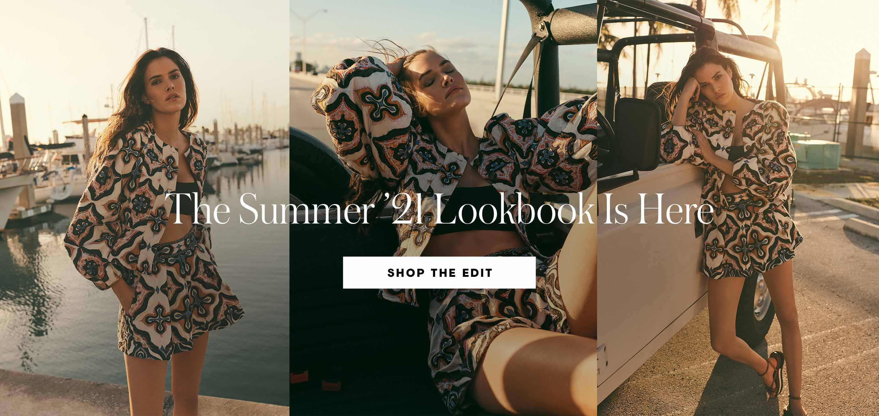 """The Summer '21 Lookbook You've been waiting for it, and it's finally here: the ultimate fashion edit, styled just for you. Here's to your best summer yet"""