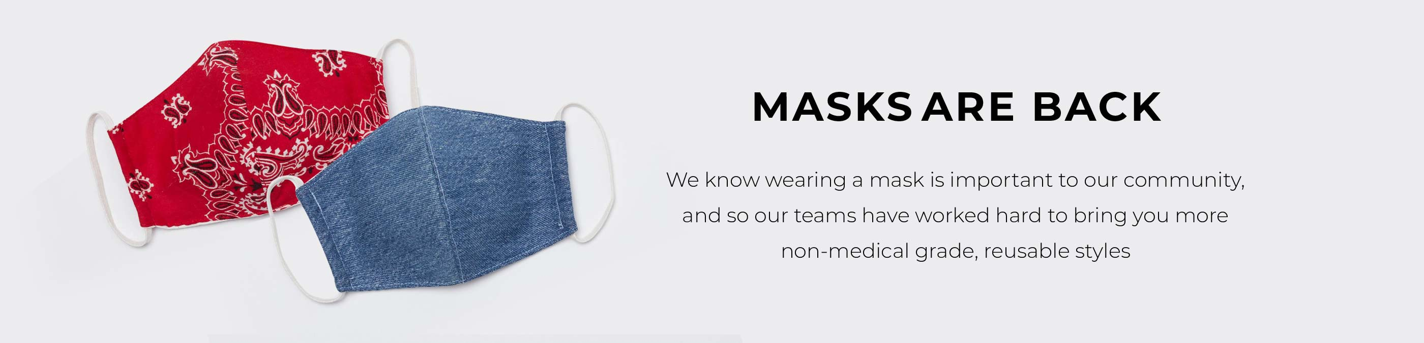 Masks Are Back