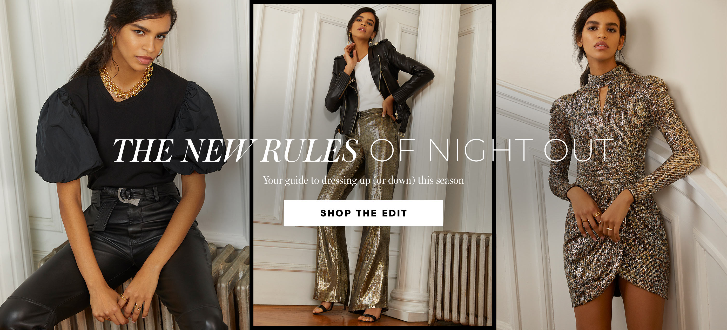 The New Rules Of Night Out  Your guide to dressing up (or down) this season
