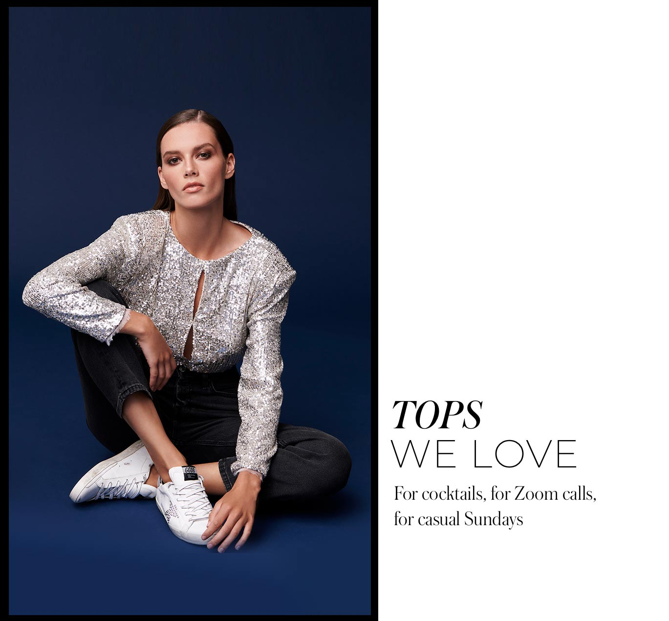 Tops We Love For cocktails, for Zoom calls, for casual Sundays