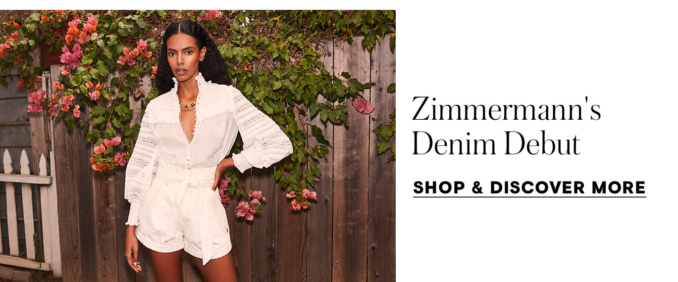Zimmermann's Denim Debut