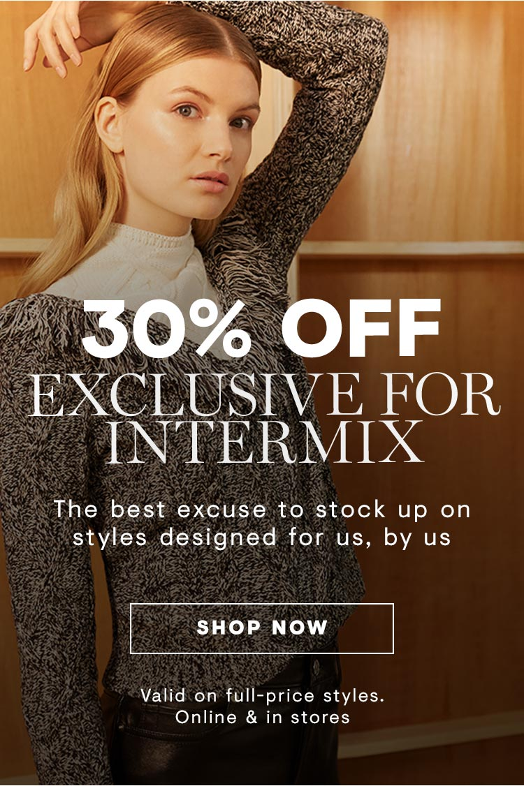 Exclusive for Intermix