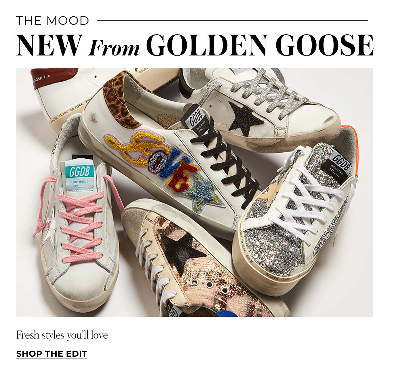 New From Golden Goose