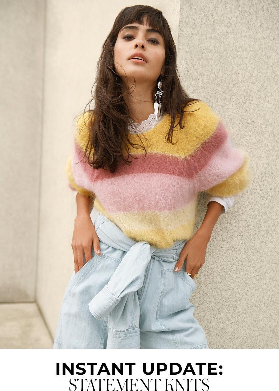 Instant Update: Statement Knits
