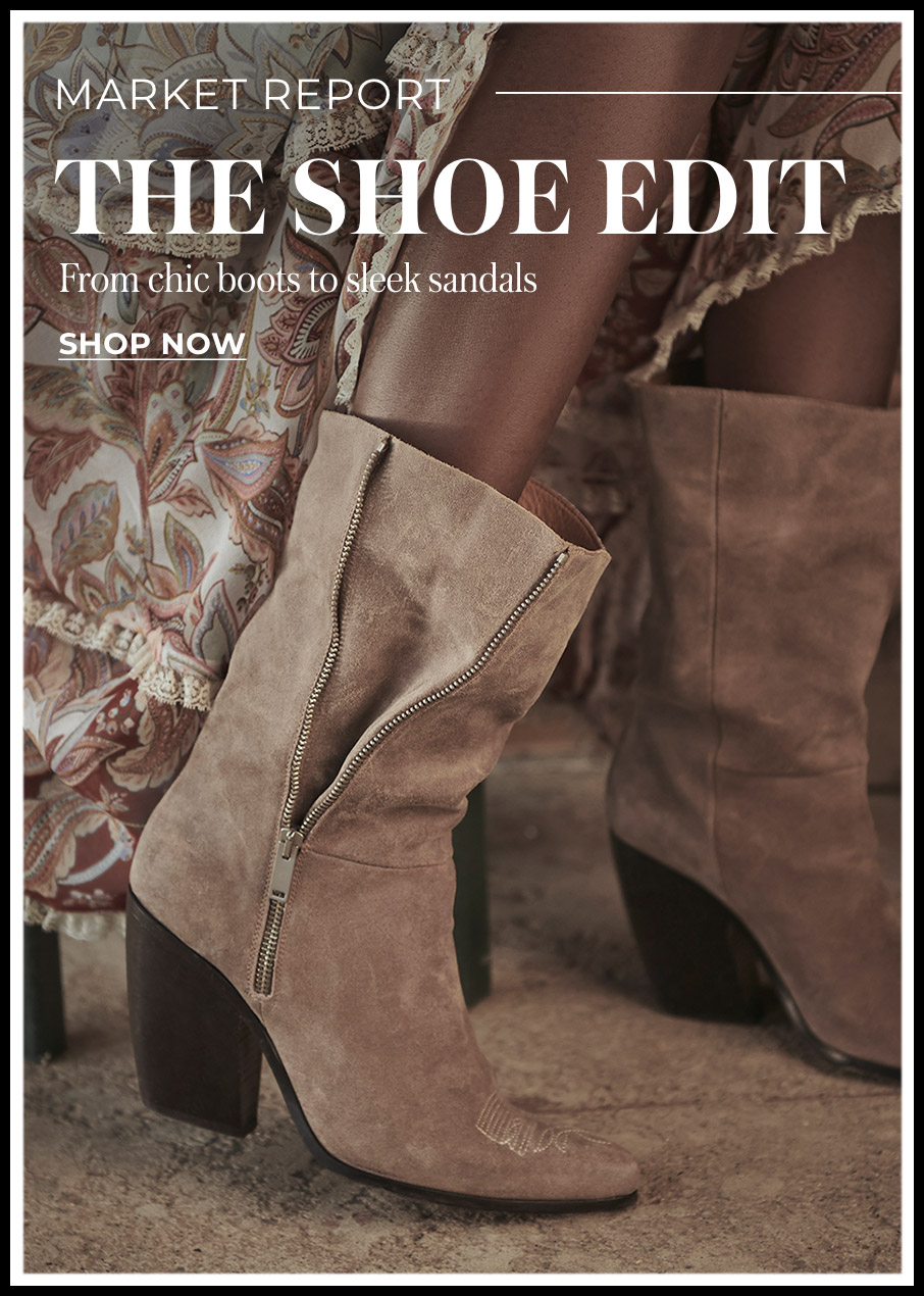 Market  Report The Shoe Edit