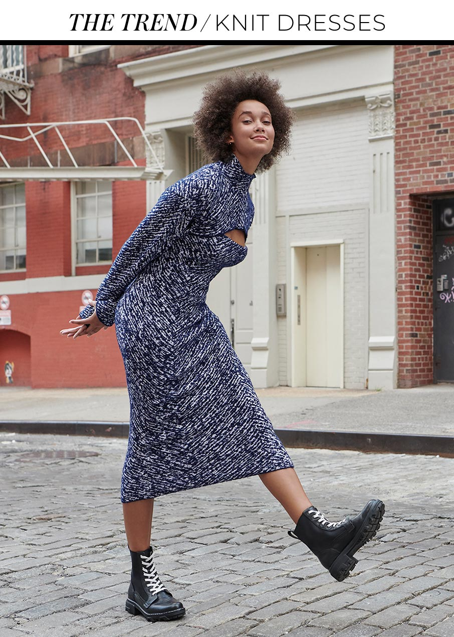 The Trend Knit Dresses