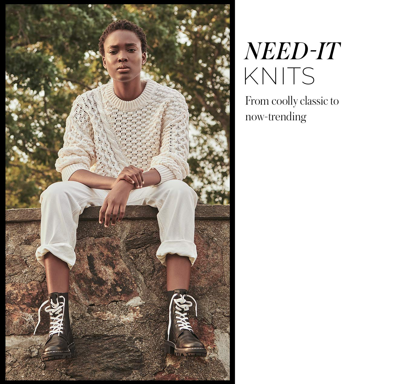 Need-It Knits From coolly classic to now-trending