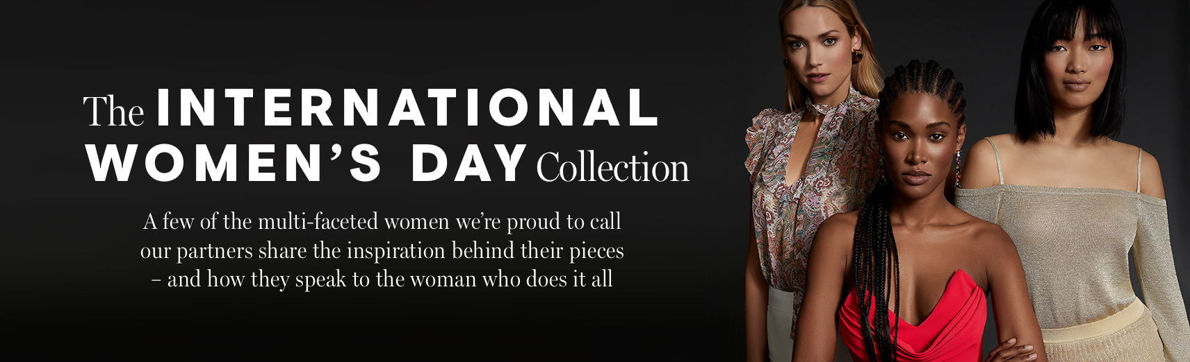 International Women's Day The Exclusive Collection