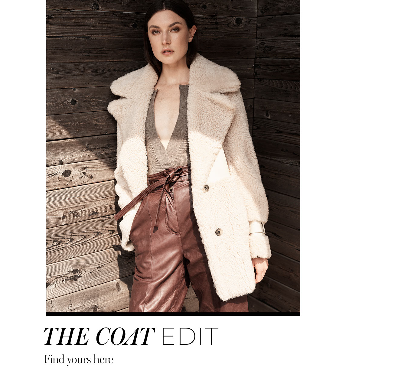 The Coat Edit Find yours here