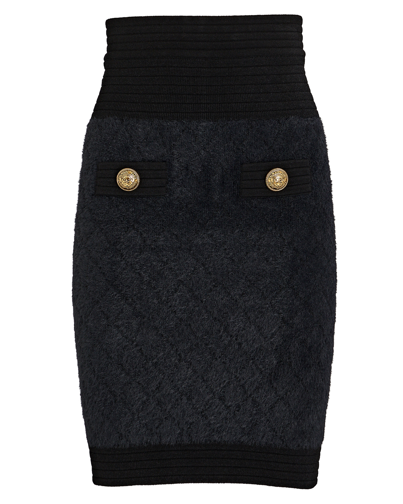 Balmain Mini skirts Diamond Knit Mini Skirt