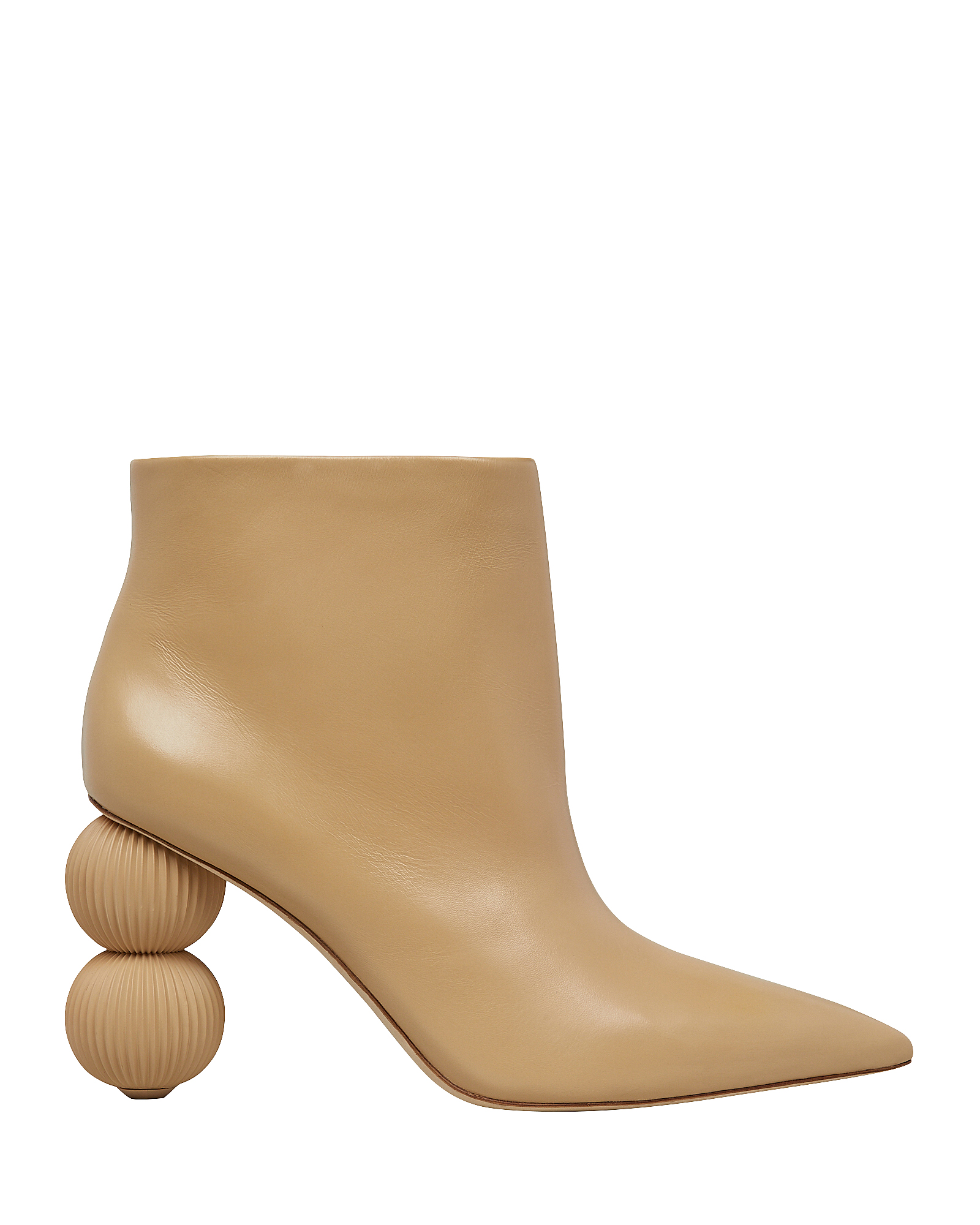 Cult Gaia Boots CULT GAIA CAM DOUBLE CIRCLE HEEL BOOTIES