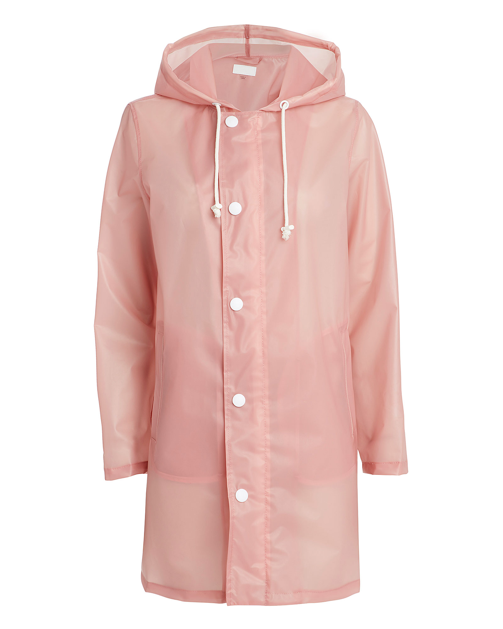Mother Coats Pitter Patter Pink Raincoat