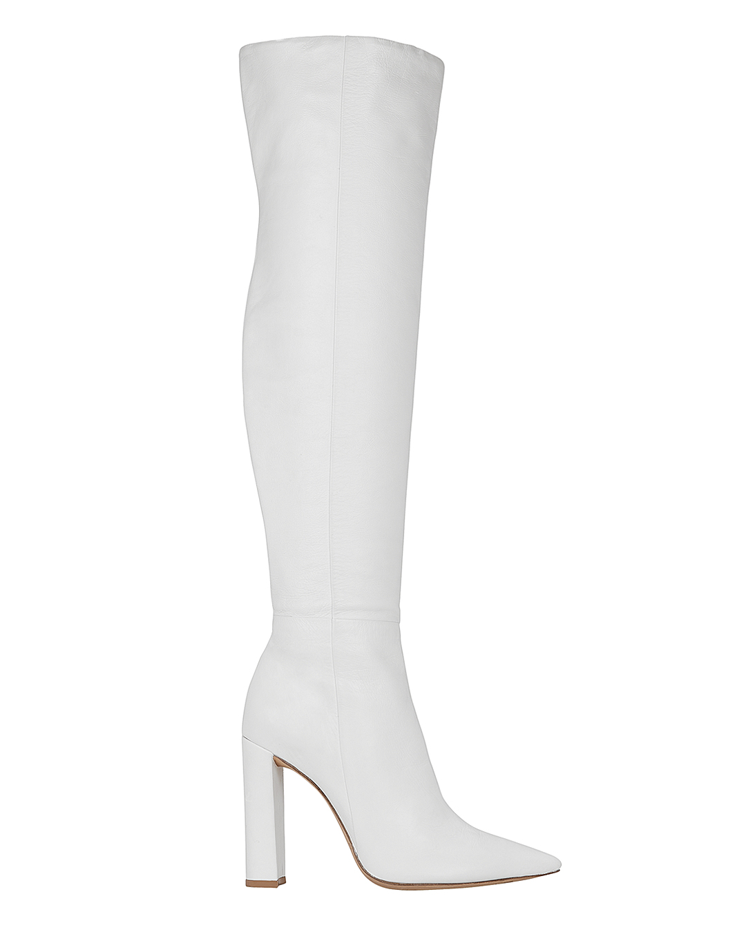 ANNA SLOUCHY BOOTS WHITE