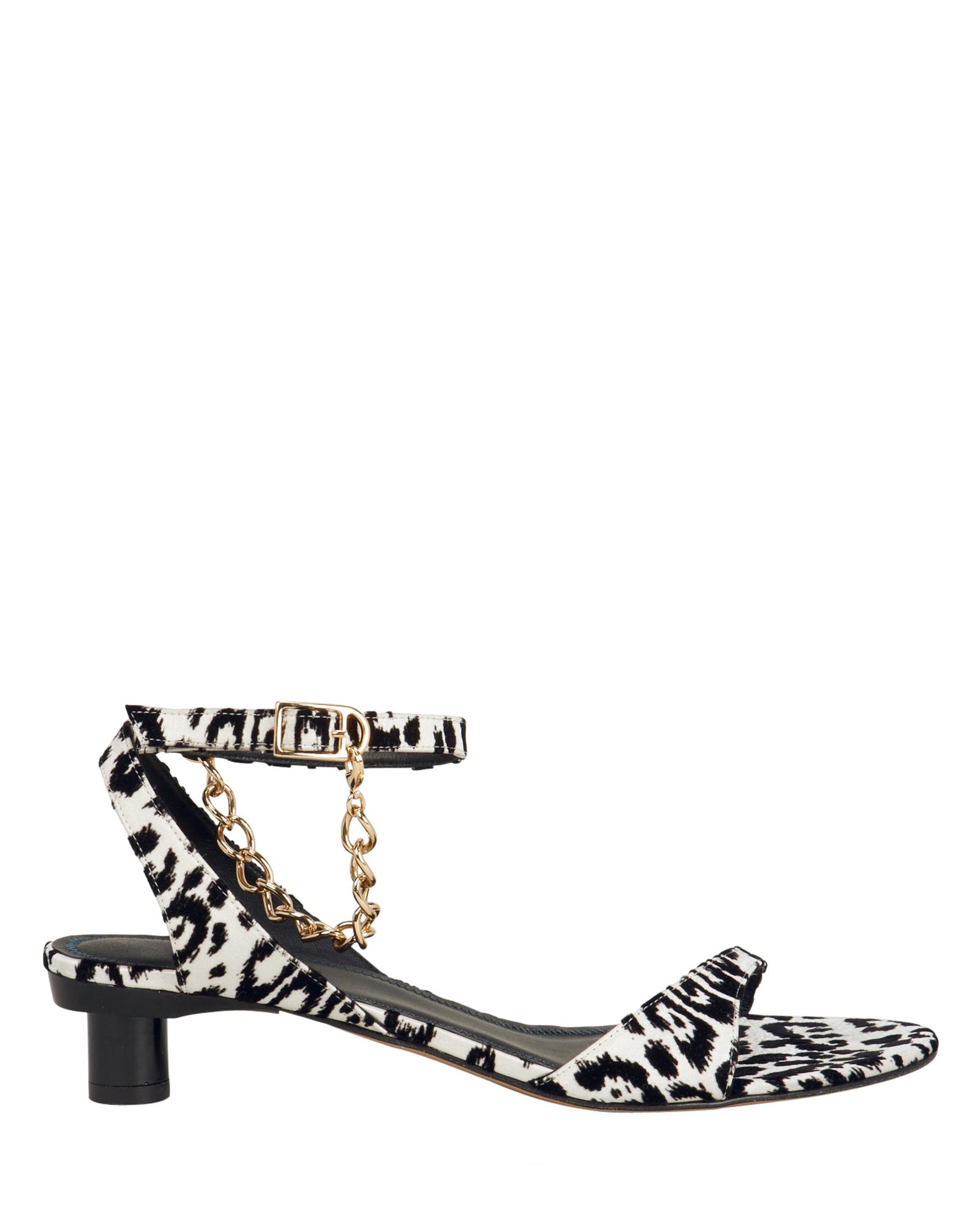 Nathan Dalmatian Chain Kitten Heels by Tibi