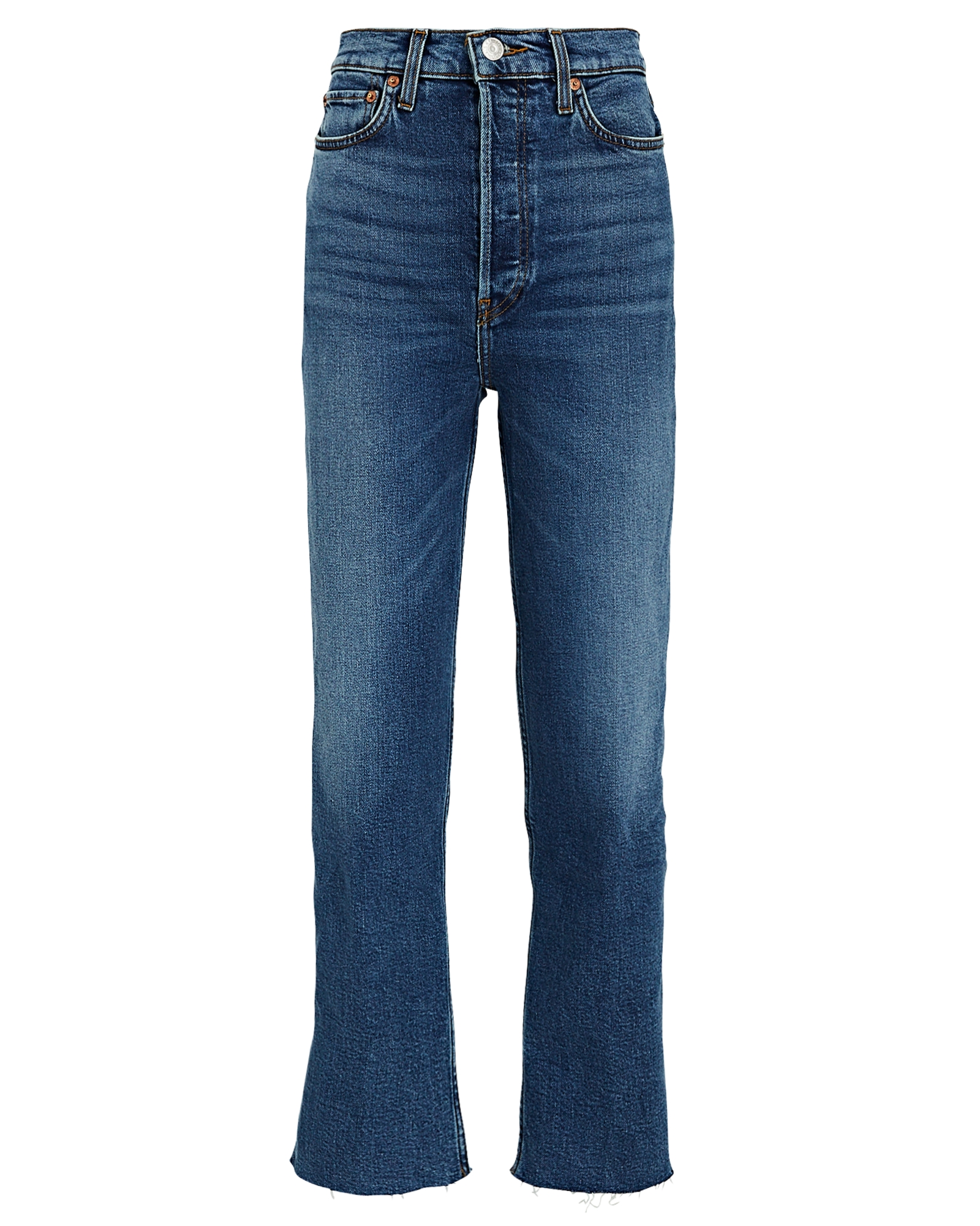 Re/done Jeans 70s High-Rise Stove Pipe Jeans