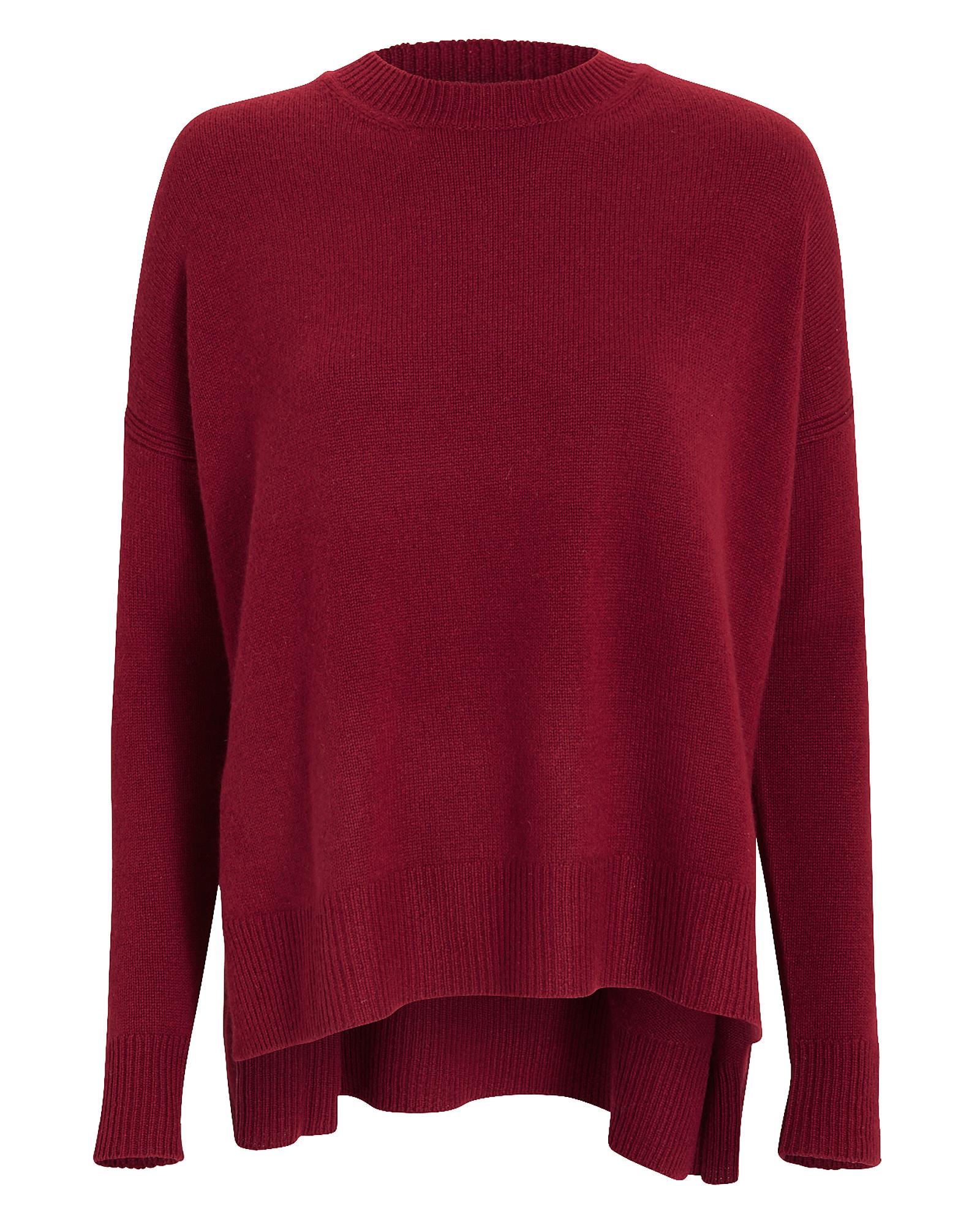 Boxy Cashmere-Blend Sweater