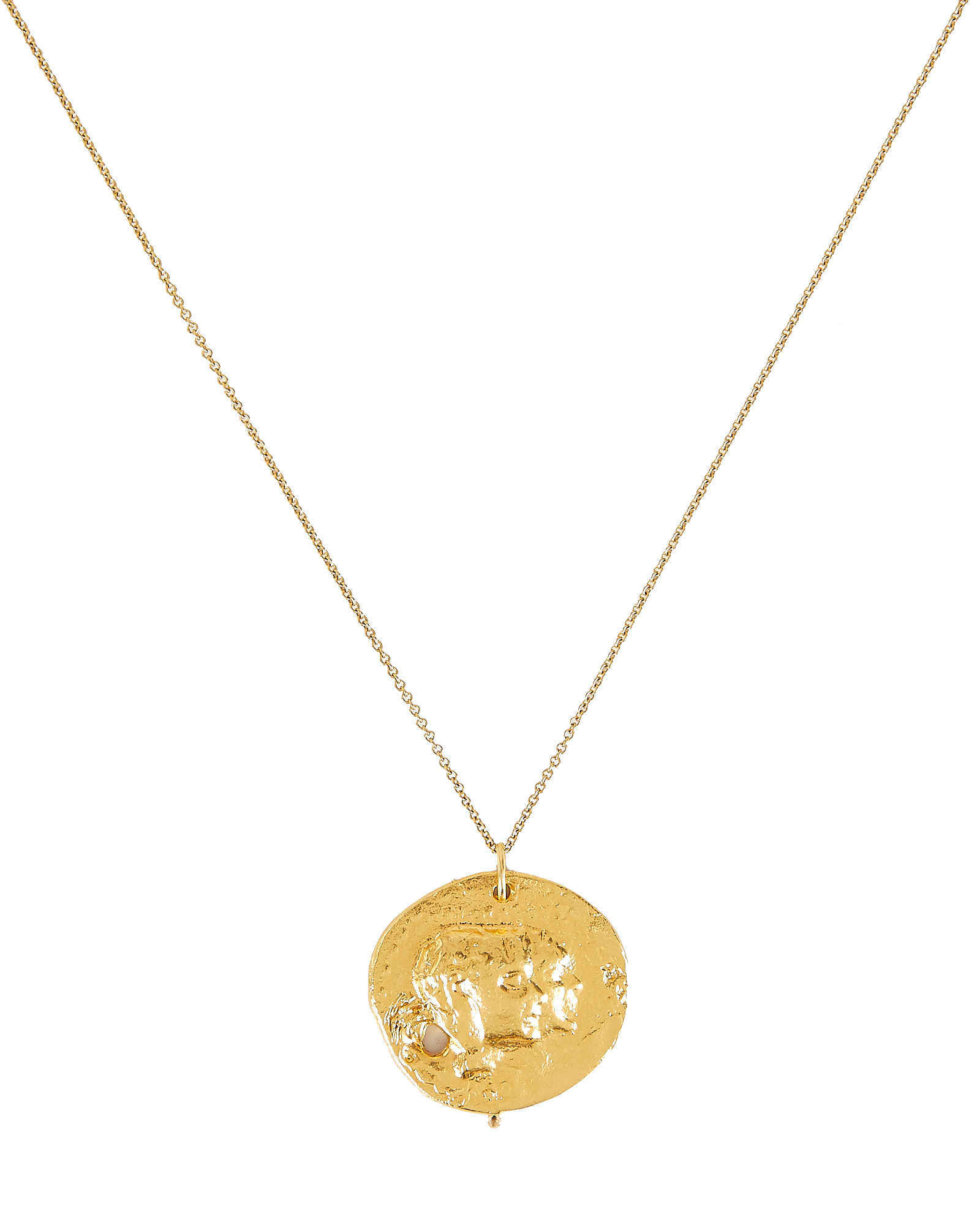 9d71915b0e378 The Other Side Of The World Necklace in Gold