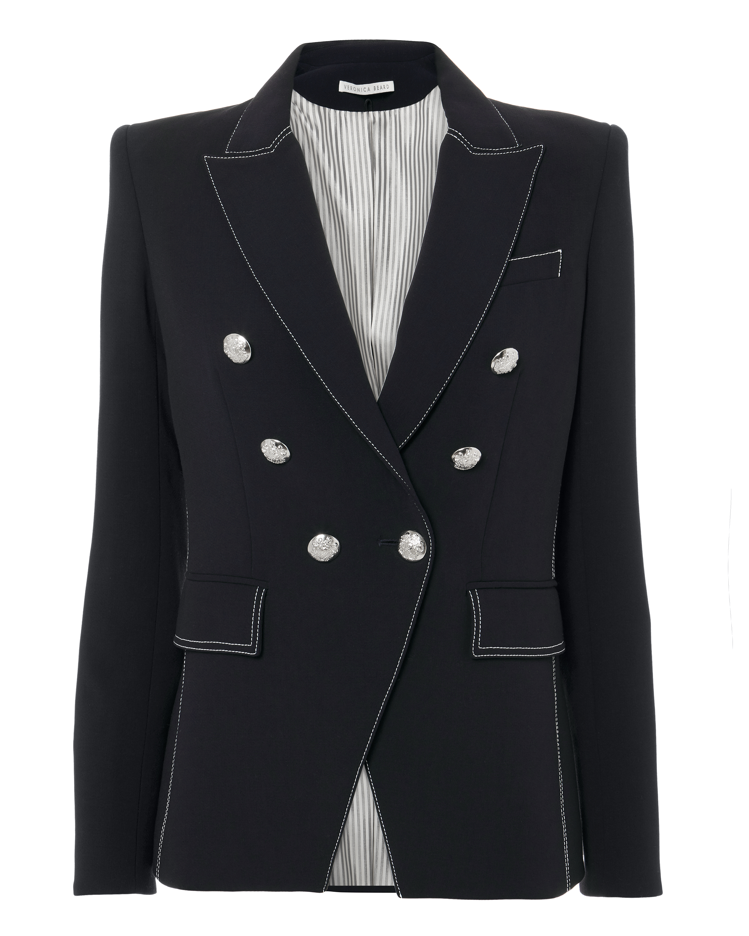 MILLER DOUBLE-BREASTED BLAZER NAVY