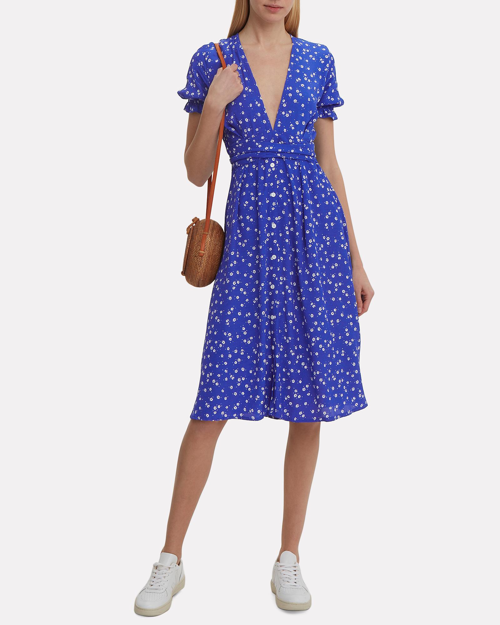 f59f86f05ac Farah Betina Print Cobalt Dress