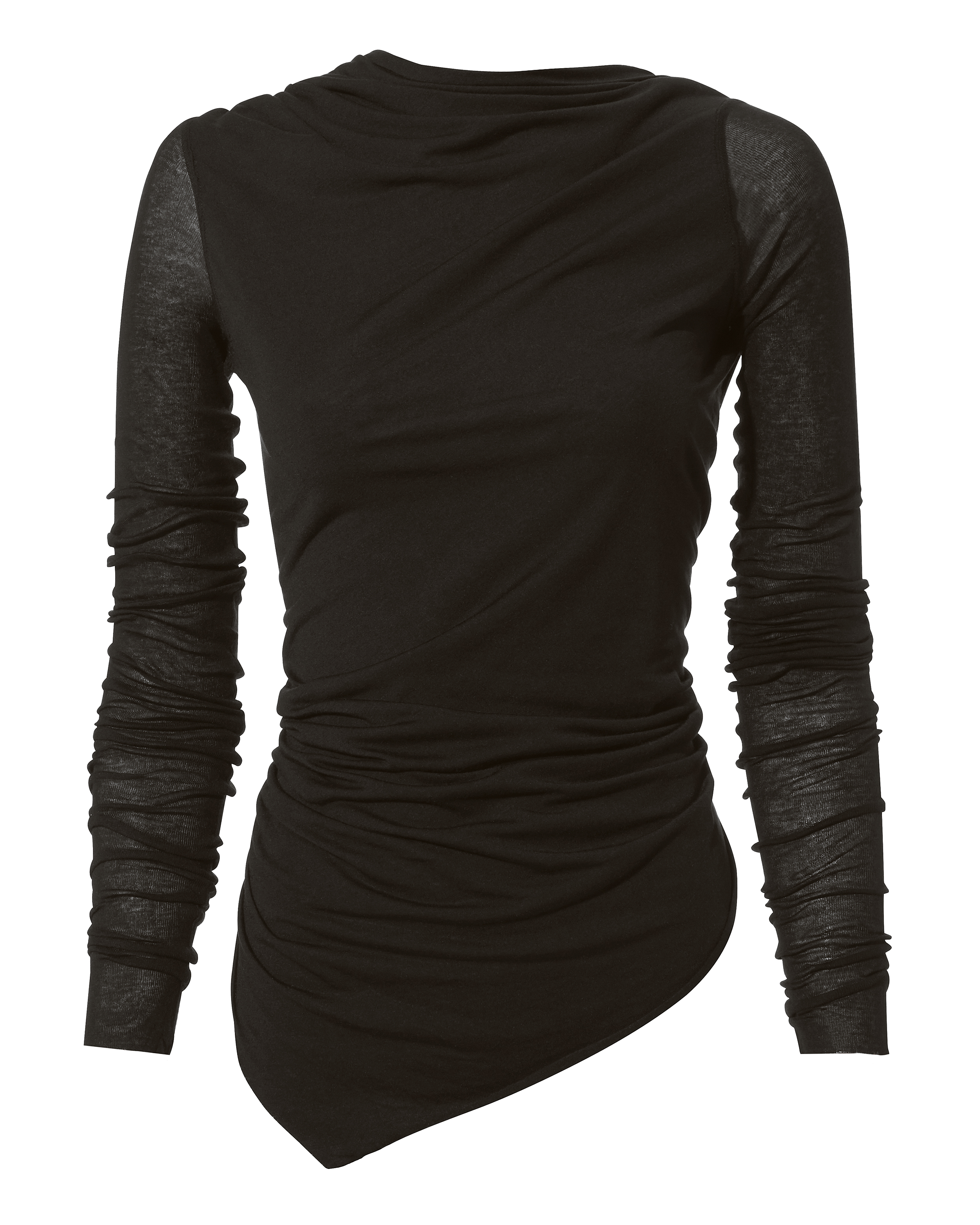 asymmetric-open-back-top by rick-owens-lilies