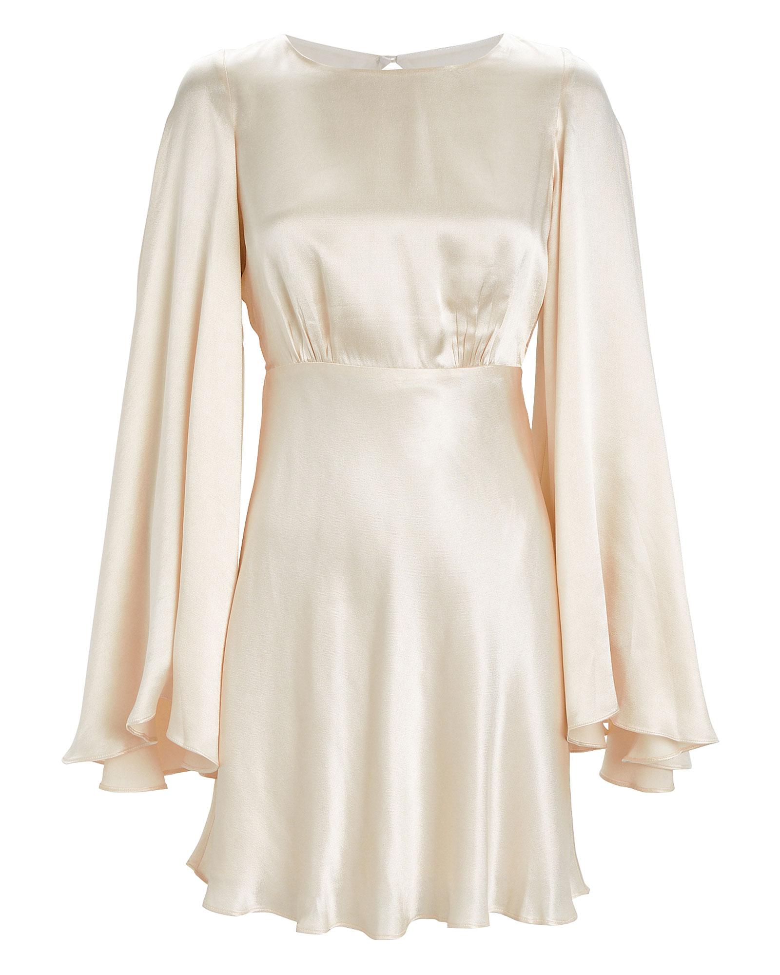 Jefferson Backless Satin Mini Dress by Shona Joy