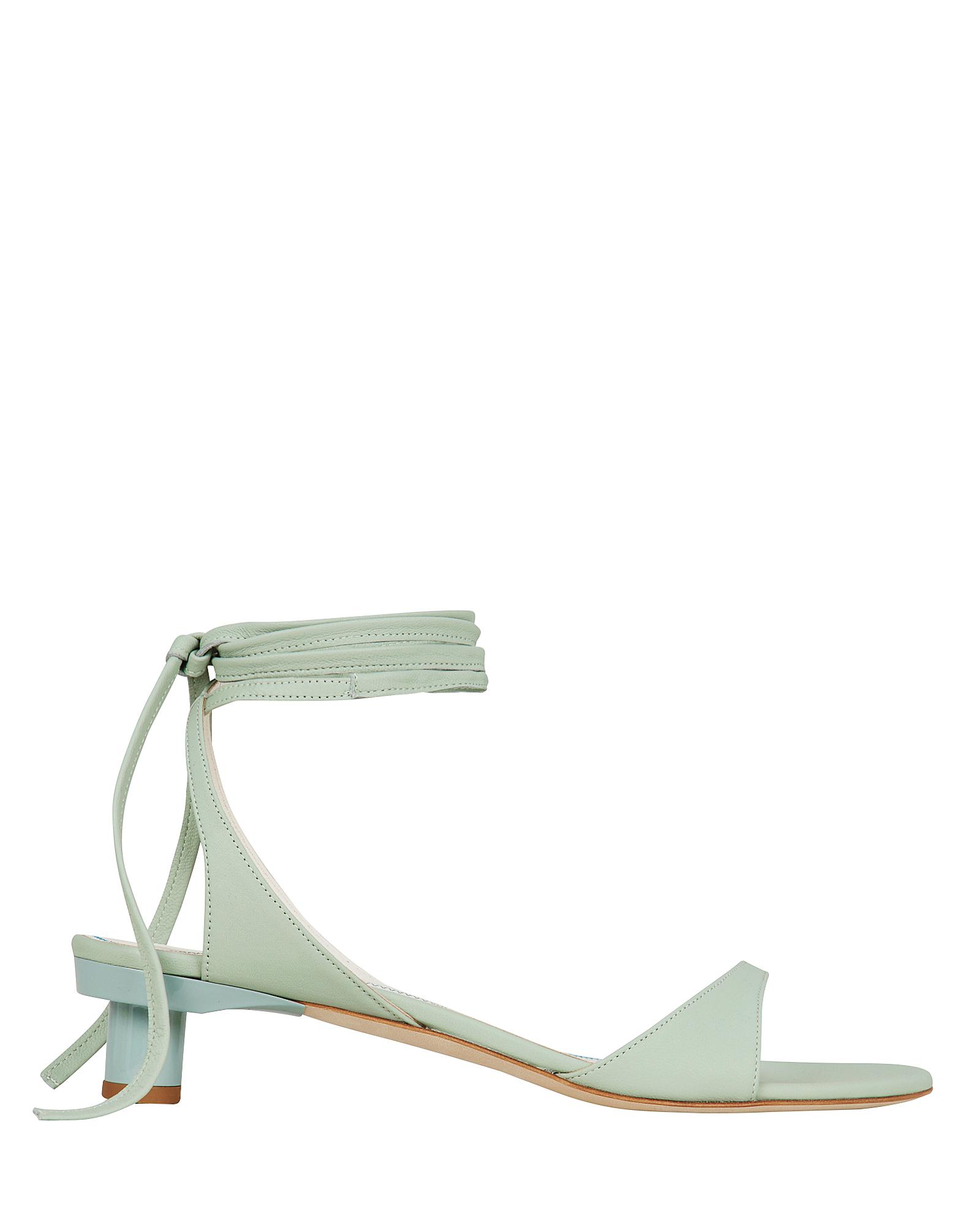 Tibi Sandals Scott Leather Sandals