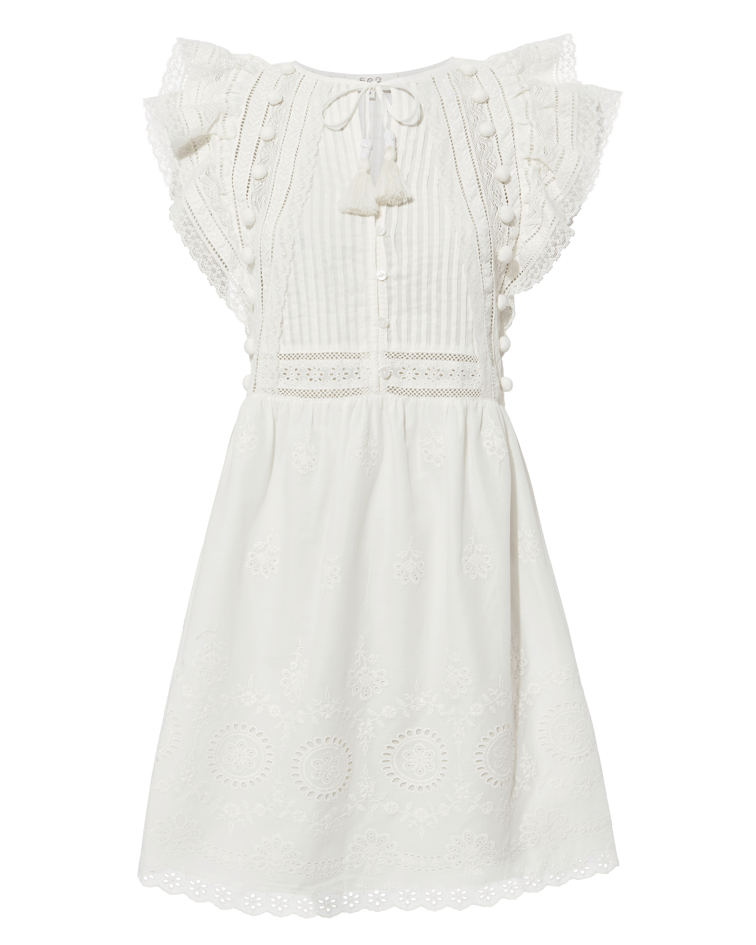 Sofie Lace Tunic Dress by Sea