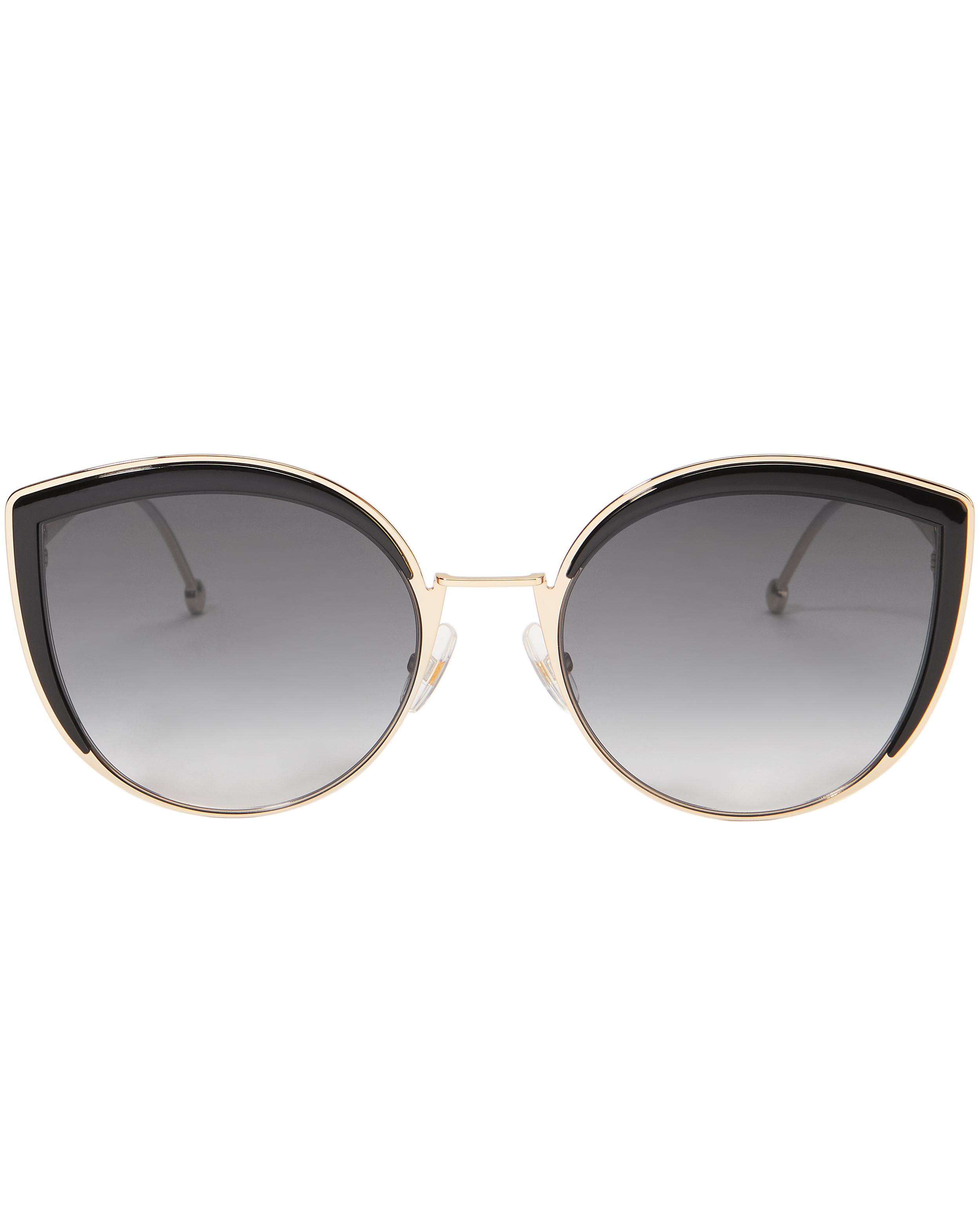 23598ba6285 Fendi Grey Gradient Cat Eye Sunglasses