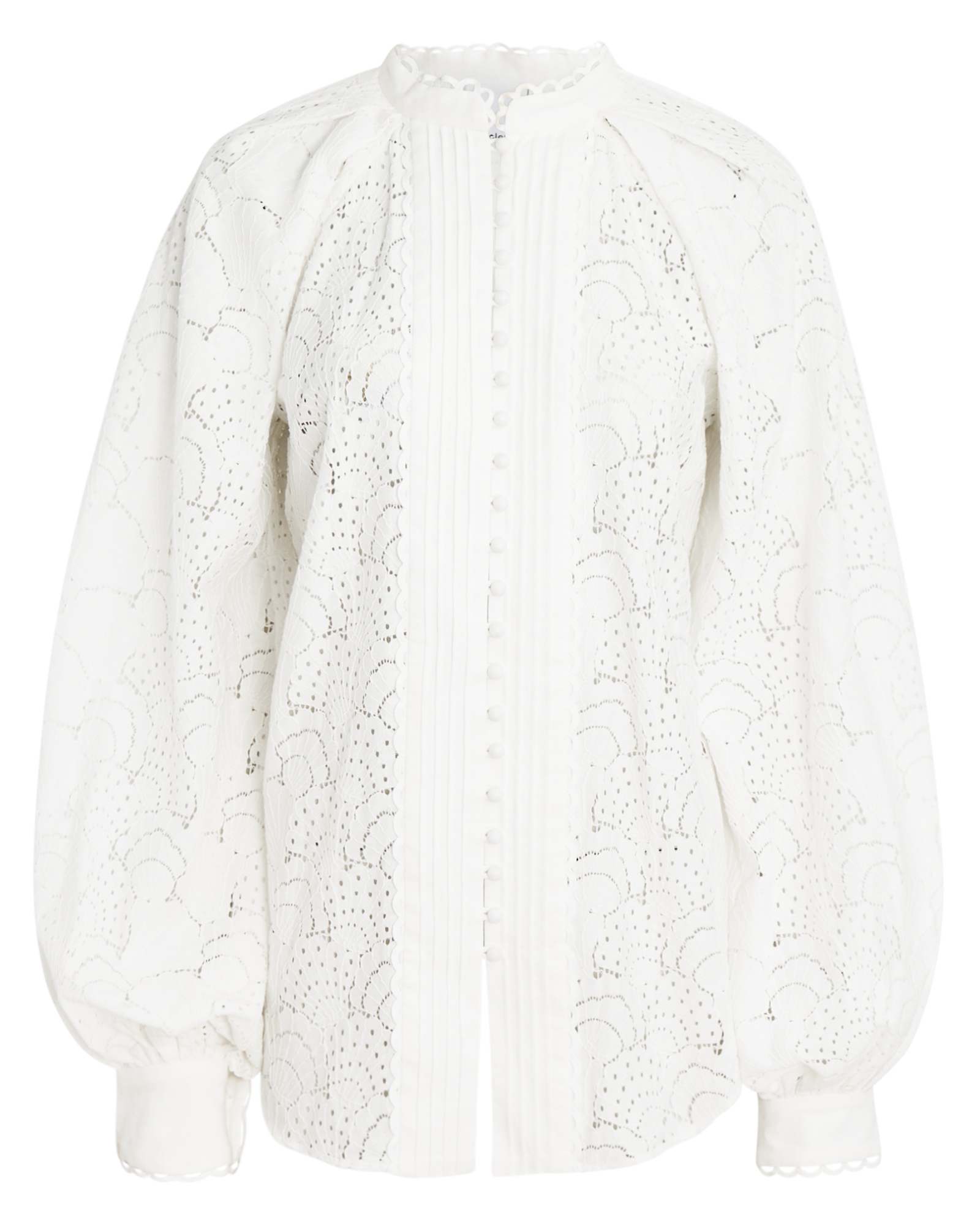 Acler ACLER COOKES BALLOON SLEEVE LACE BLOUSE