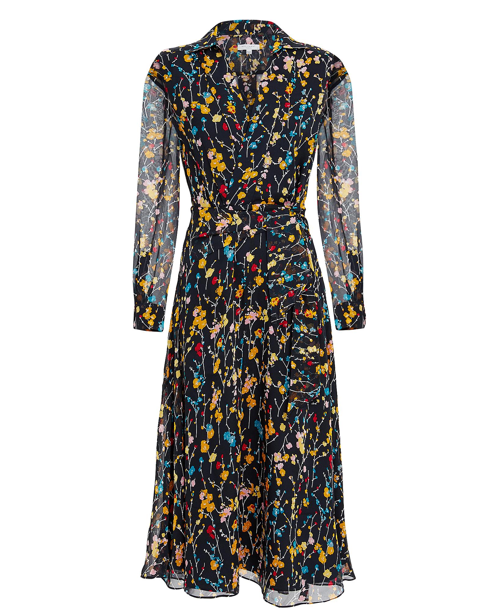 EQUIPMENT FEMME Vivienne Midi Dress