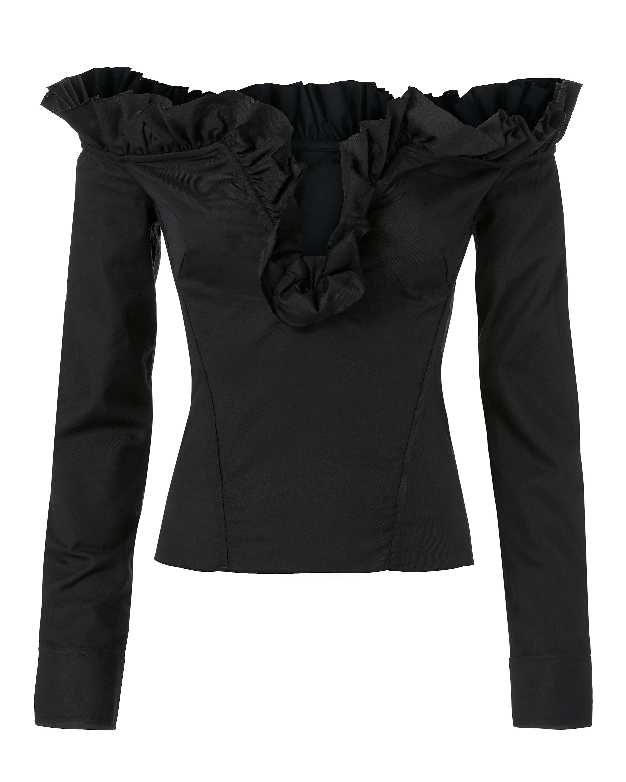 Corset Ruffle Top by Marques' Almeida