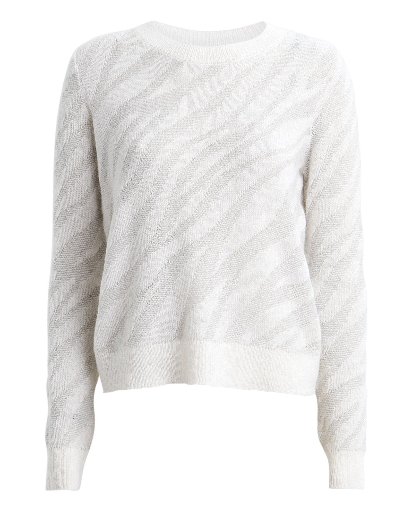 Rag & Bone Sweaters RAG & BONE GERMAINE ZEBRA ALPACA-BLEND SWEATER