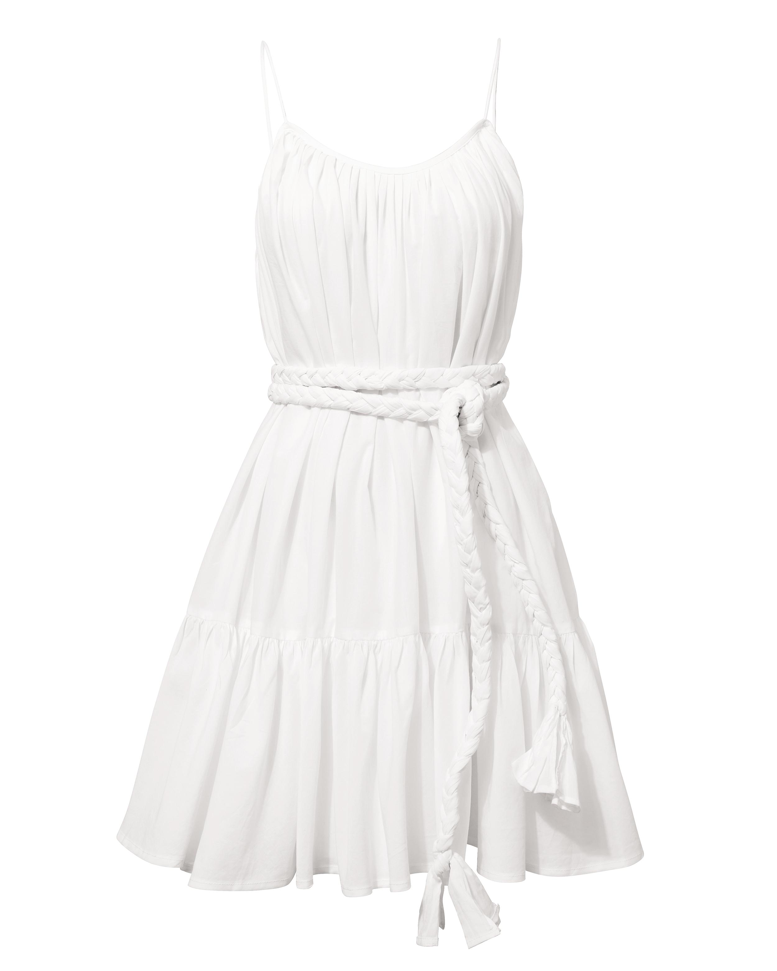 Rhode Nala White Mini Dress