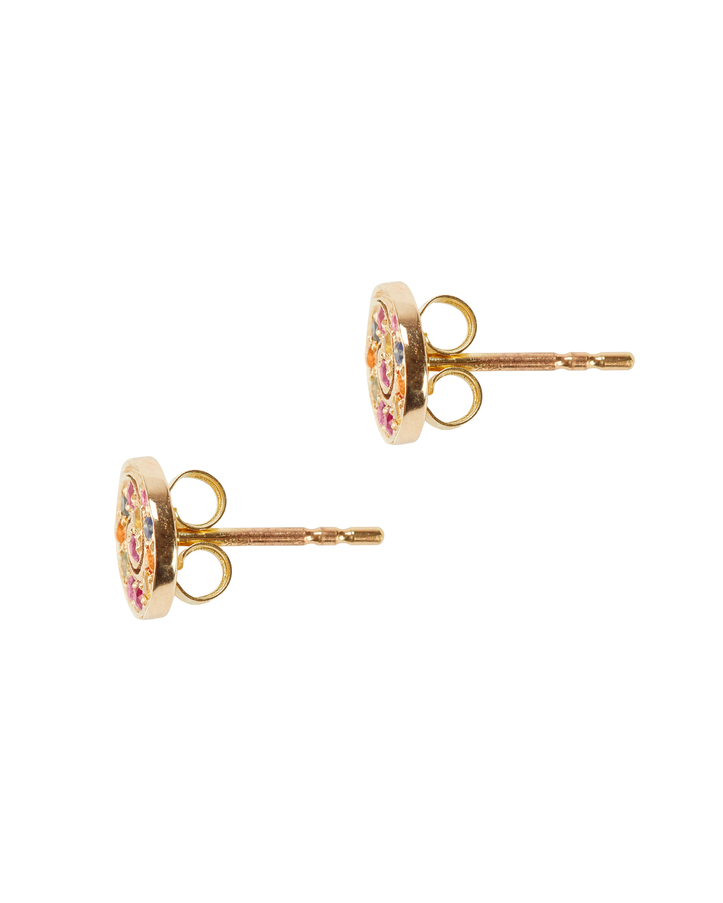 gold water haan rainbow stud in earrings the under glass cole bridge a
