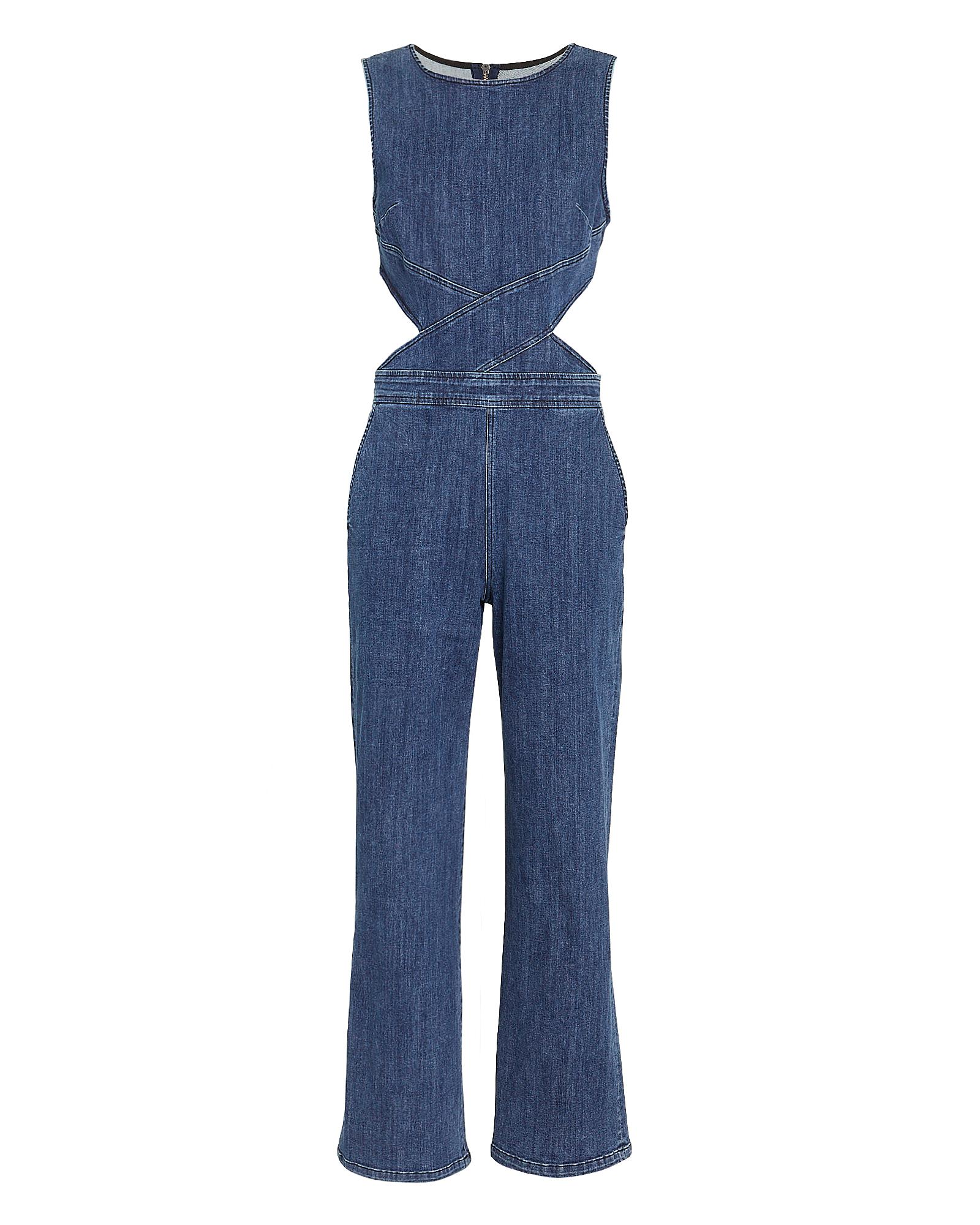 3x1 Suits 3X1 DANNY JUMPSUIT  DARK BLUE DENIM M