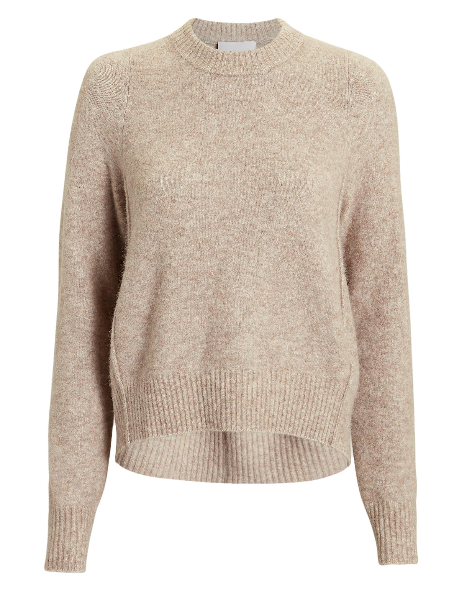 PHILLIP LIM 3.1 Phillip Li Brown High-Low Sweater Brown